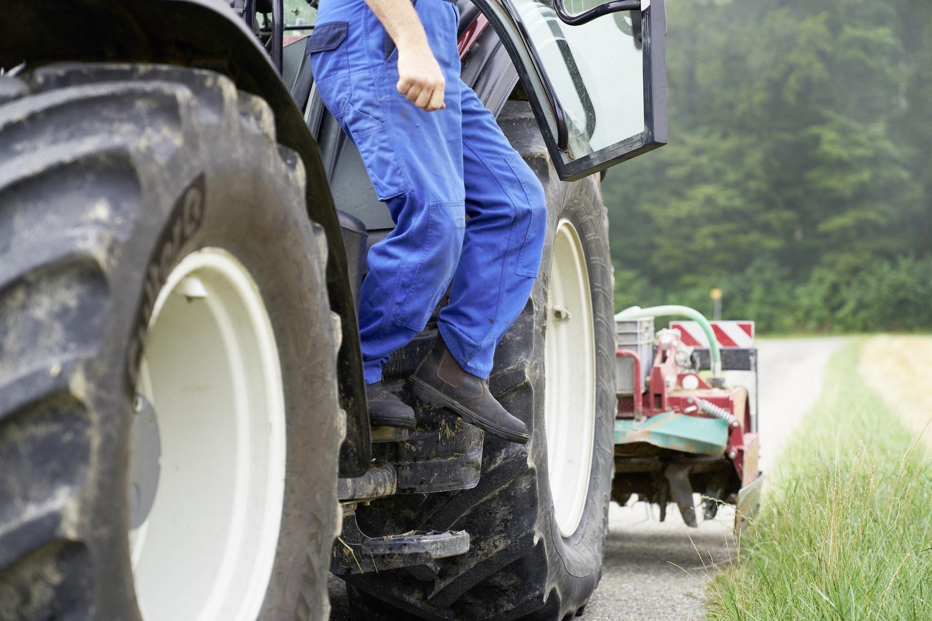 Umfallverhütung Landwirtschaft